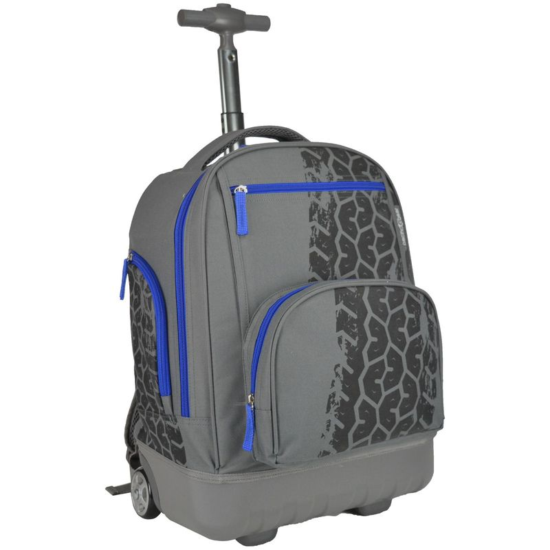 トラベラーズチョイス メンズ バックパック・リュックサック バッグ Pacific Gear Treasureland Hybrid Lightweight Rolling Backpack Tiretrack