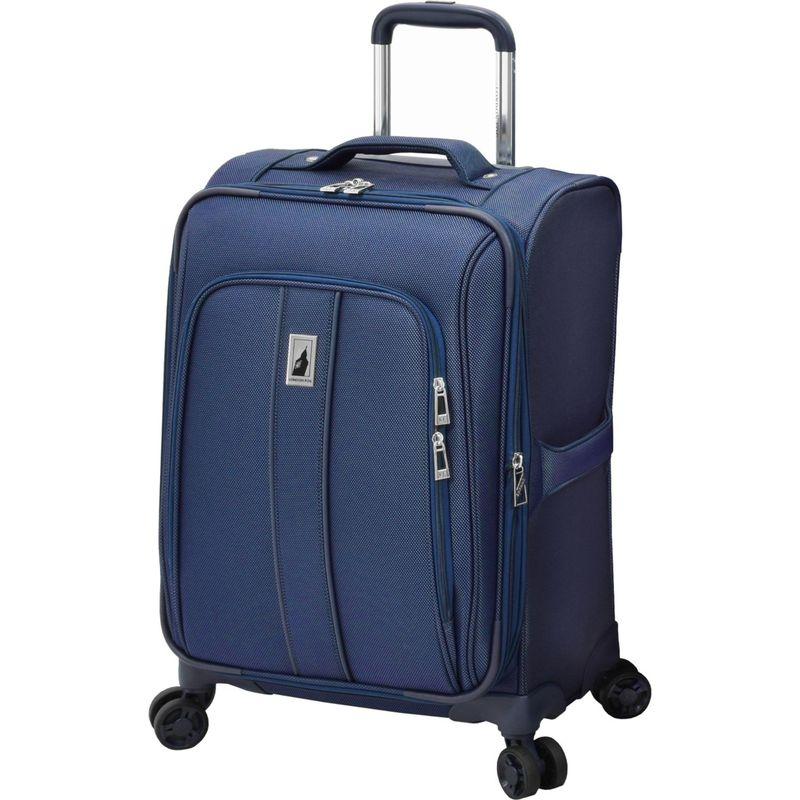 ロンドンフォグ メンズ スーツケース バッグ Knightsbridge II 20 Expandable Spinner Carry On Sapphire