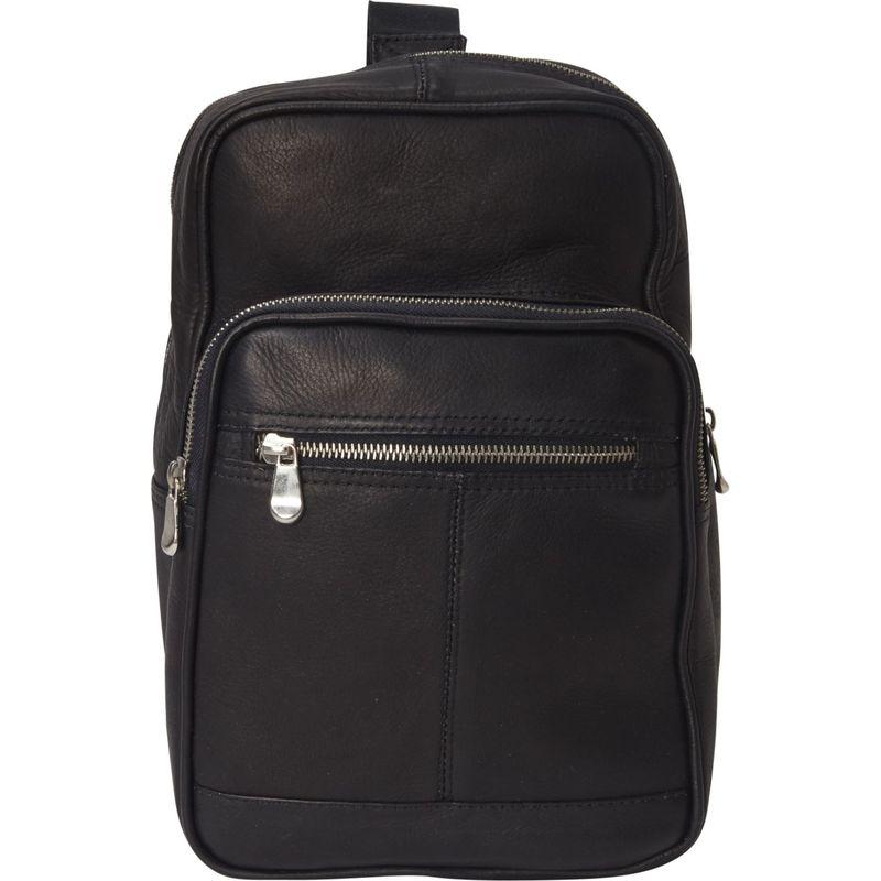 ピエール メンズ ボディバッグ・ウエストポーチ バッグ Small Crossbody Bag Black