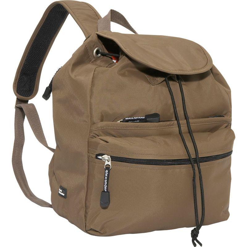 デレクアレクサンダー メンズ バックパック・リュックサック バッグ Medium Backpack Taupe
