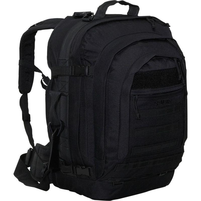 ソックギア メンズ バックパック・リュックサック バッグ Bugout Bag - 600 Denier Poly-Canvas Black