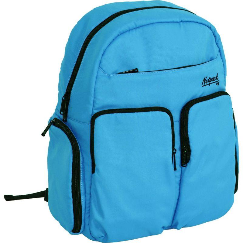 ネットパック メンズ バックパック・リュックサック バッグ Soft Lightweight Day Pack with RFID Pocket Blue