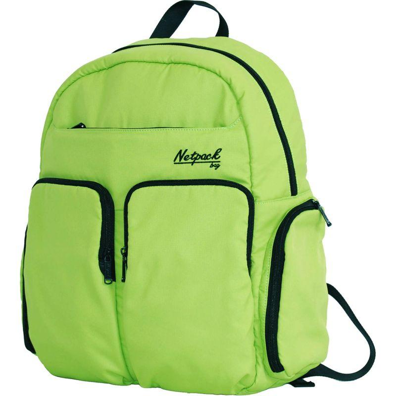 ネットパック メンズ バックパック・リュックサック バッグ Soft Lightweight Day Pack with RFID Pocket Green