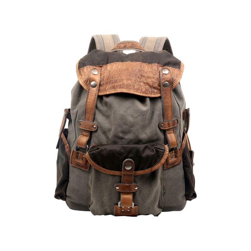 ティエスディー メンズ バックパック・リュックサック バッグ Tapa Backpack Grey