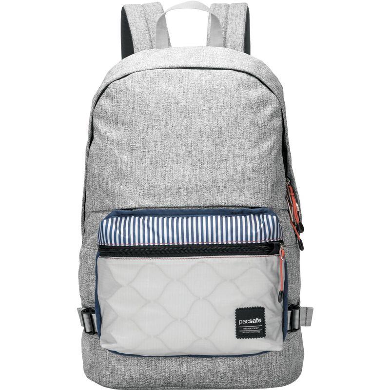 パックセーフ メンズ バックパック・リュックサック バッグ RFID Slingsafe LX400 Anti-Theft Backpack with Detachable Front Pocket Tweed Grey