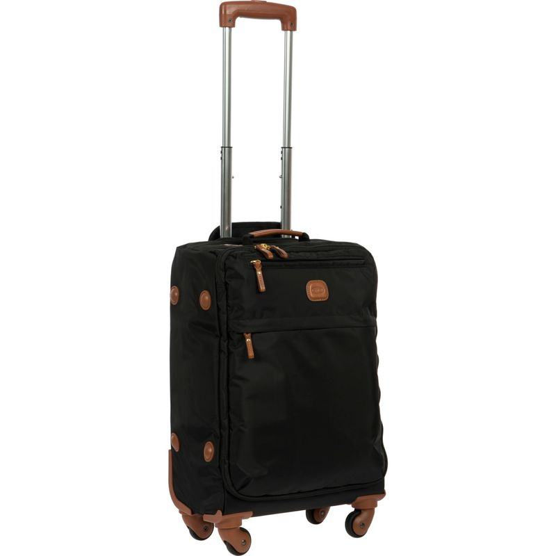 """ブリックス メンズ スーツケース バッグ X-Bag 21"""" Carry-On Frame Spinner Black"""