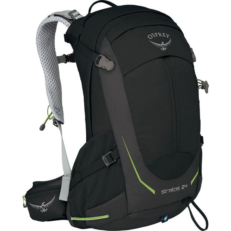 オスプレー メンズ バックパック・リュックサック バッグ Stratos 24 Hiking Pack Black