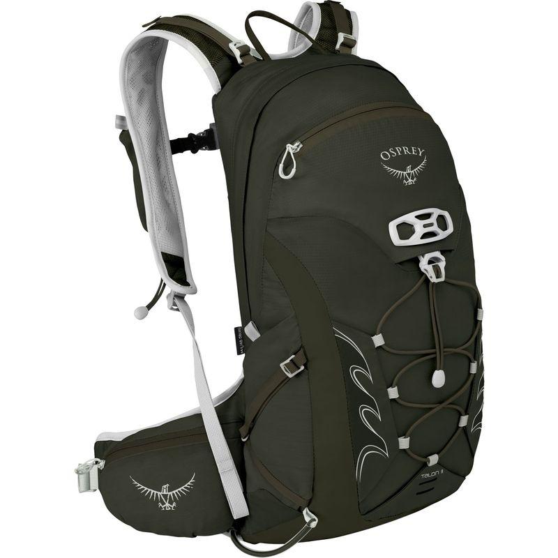 オスプレー メンズ バックパック・リュックサック バッグ Talon 11 Hiking Pack Yerba Green - S/M