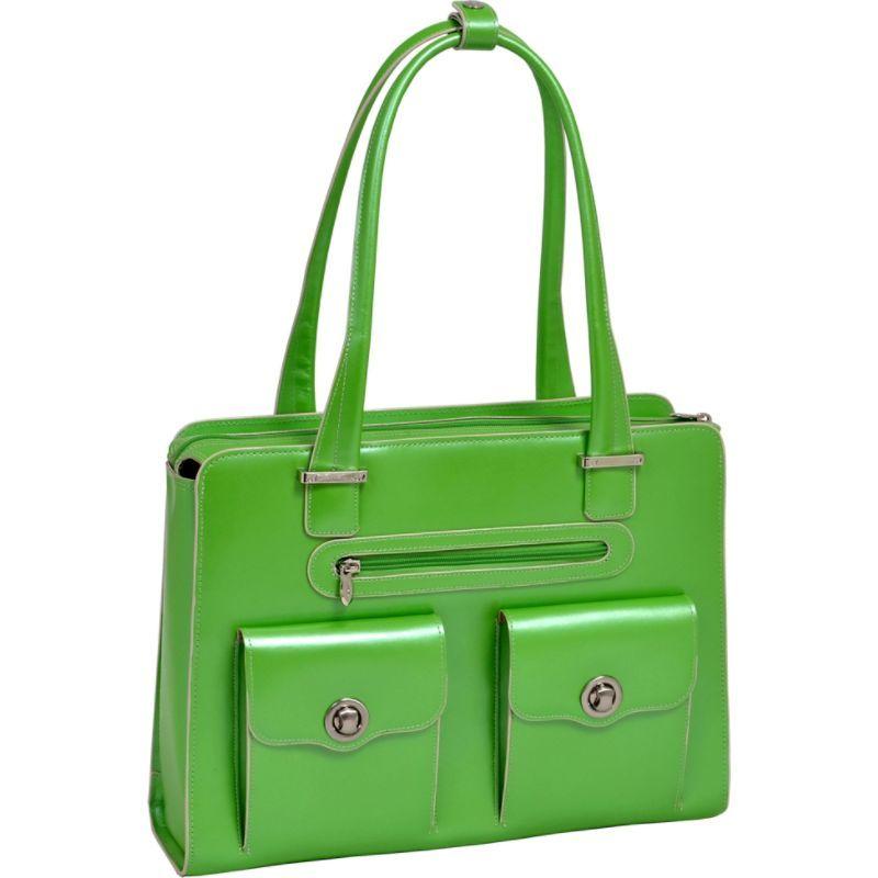 マックレイン メンズ スーツケース バッグ Verona 15 Ladies' Fly-Through Checkpoint-Friendly Laptop Briefcase Green