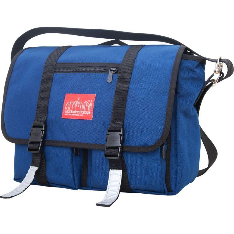 マンハッタンポーテージ メンズ ショルダーバッグ バッグ Trotter Messenger Bag Jr. Navy