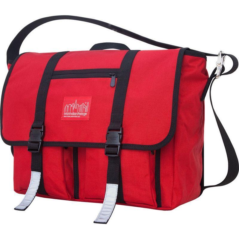 マンハッタンポーテージ メンズ スーツケース バッグ Trotter 15 Laptop Messenger Bag Red