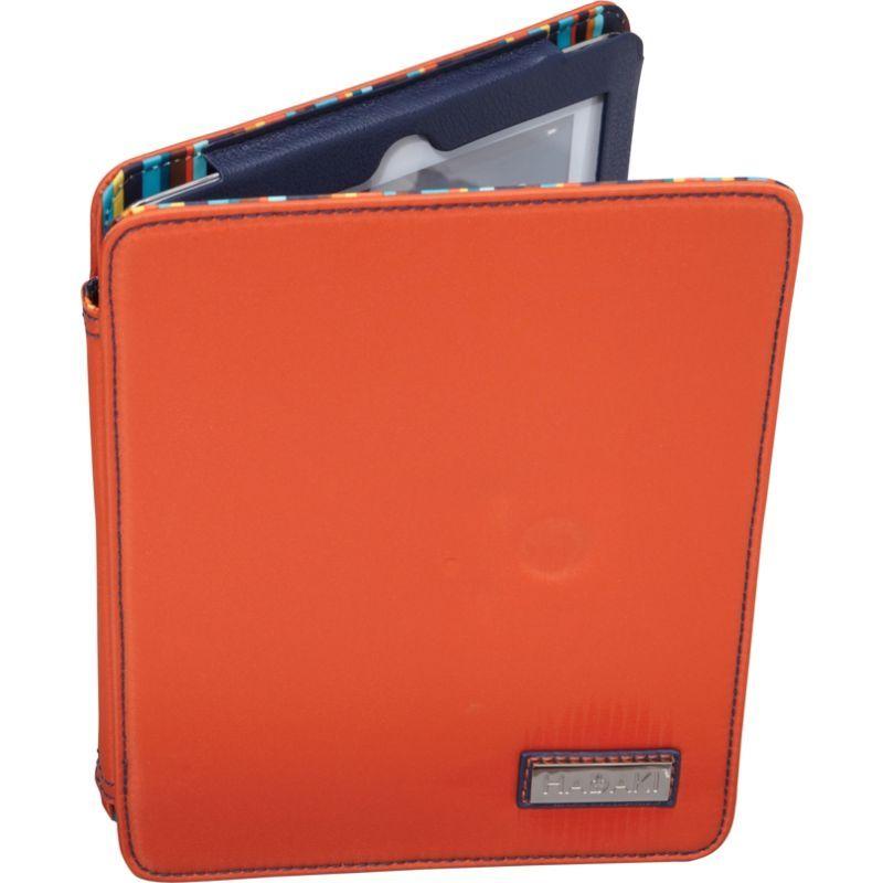 ハダキ メンズ PC・モバイルギア アクセサリー Nylon iPad Wrap Orange/Navy