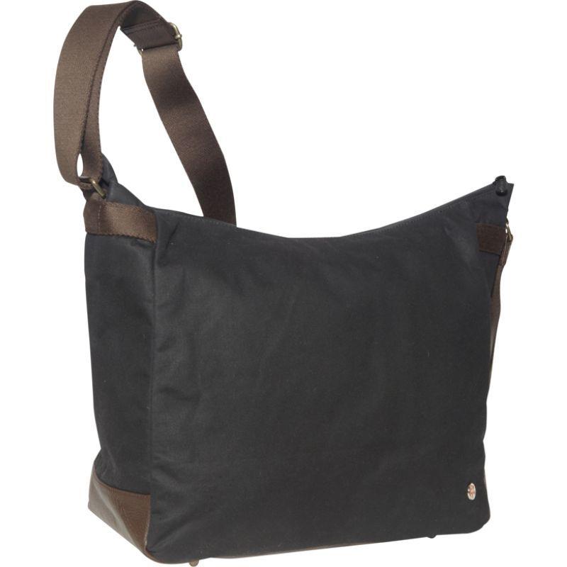 トーケン メンズ ショルダーバッグ バッグ Riverside Waxed Shoulder Bag Black