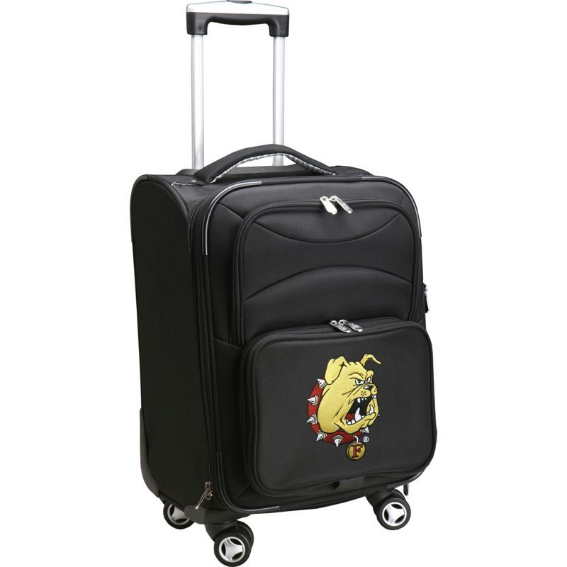 デンコスポーツ メンズ スーツケース バッグ NCAA 20 Domestic Carry-On Spinner Ferris State University Bulldogs