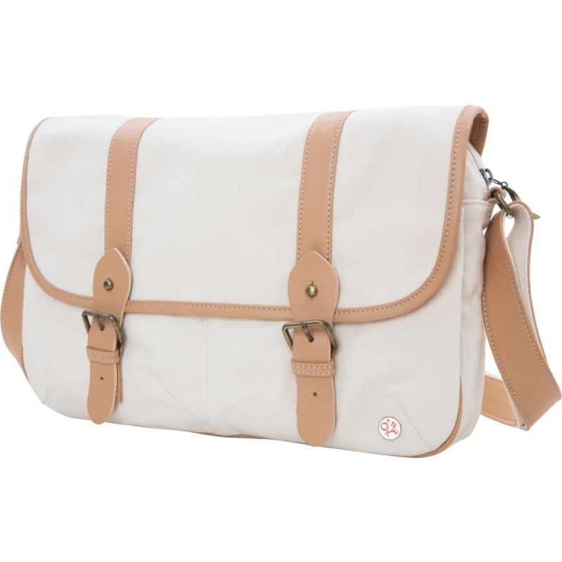 トーケン メンズ ショルダーバッグ バッグ Ft. Greene Organic Shoulder Bag (L) Beige