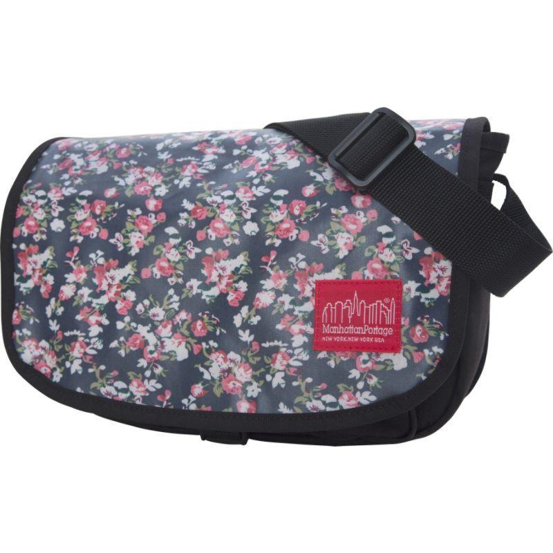 マンハッタンポーテージ メンズ ショルダーバッグ バッグ Floral Print SoHobo Bag Black