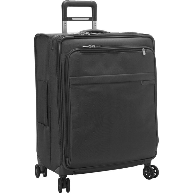 ブリグスアンドライリー メンズ スーツケース バッグ Baseline CX Medium Expandable Spinner Black