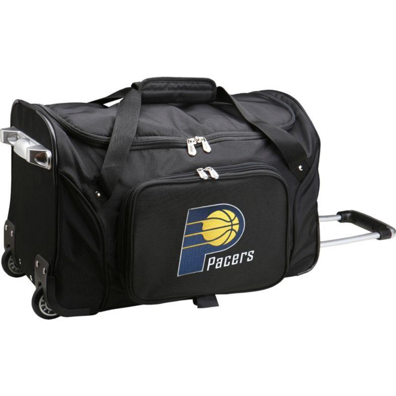 デンコスポーツ メンズ スーツケース バッグ NBA 22 Rolling Duffel Indiana Pacers
