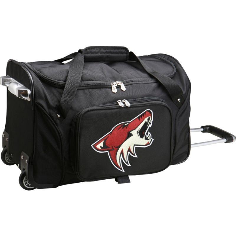 デンコスポーツ メンズ スーツケース バッグ NHL 22 Rolling Duffel Phoenix Coyotes