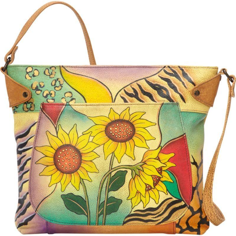 アンナバイアナシュカ メンズ トートバッグ バッグ Medium Convertible Tote Sunflower Safari