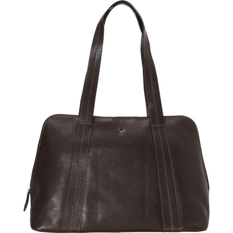 ハイデザイン メンズ トートバッグ バッグ Cerys Leather Multi-Compartment Tote Brown