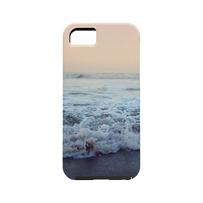 デニー メンズ PC・モバイルギア アクセサリー Leah Flores iPhone 5/5s Case Ocean Blue - Crash into Me