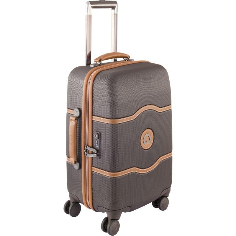 デルシー メンズ スーツケース バッグ Chatelet Hard+ 21 4 Wheel Spinner Carry On Brown