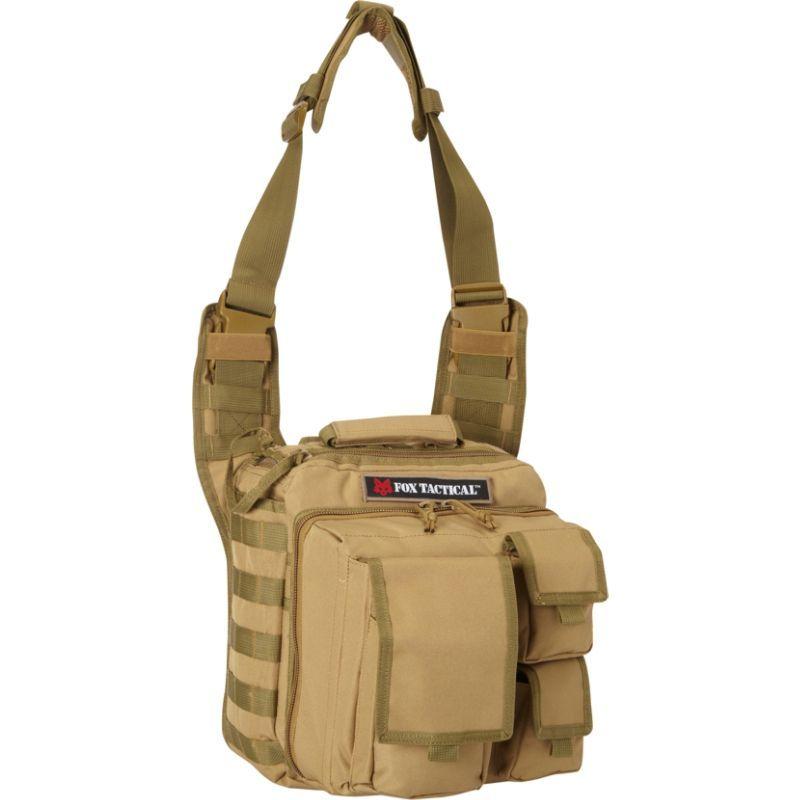 フォックスアウトドア メンズ ボストンバッグ バッグ Over the Headrest Tactical Go-To Bag Coyote