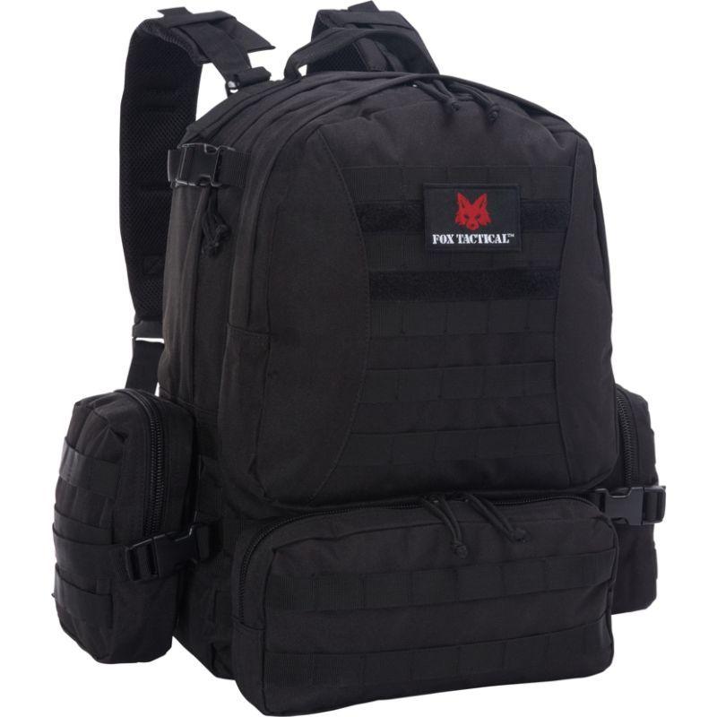 フォックスアウトドア メンズ バックパック・リュックサック バッグ Advanced Hydro Pack Black