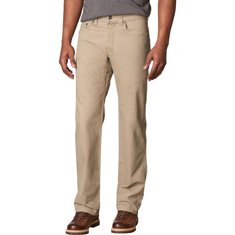 プラーナ メンズ カジュアルパンツ ボトムス Bronson Pants - 36 Inseam Dark Khaki