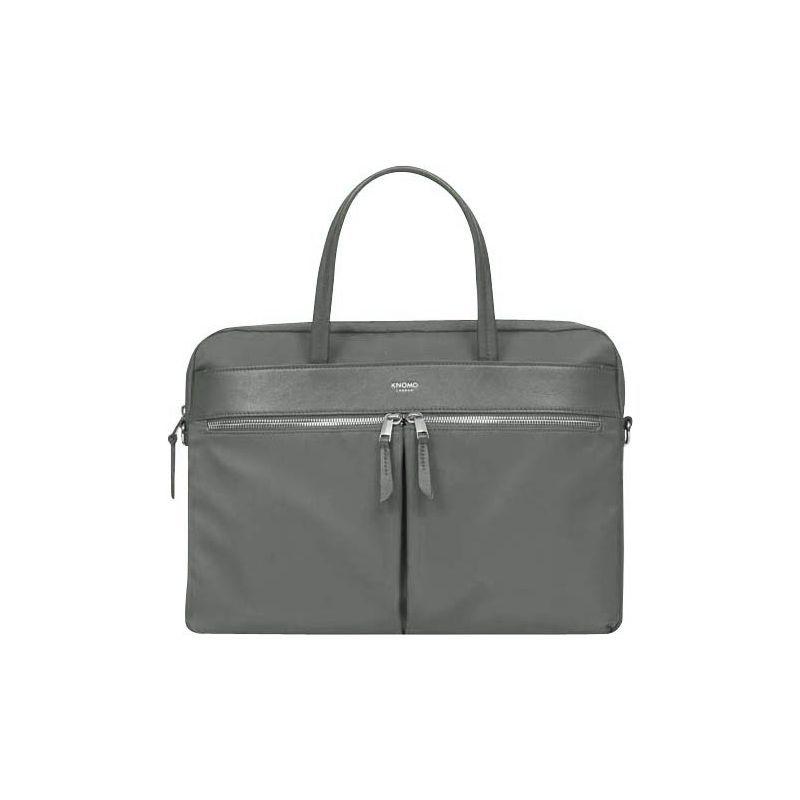 クノモ メンズ スーツケース バッグ Mayfair Nylon Hanover Briefcase Old Grey