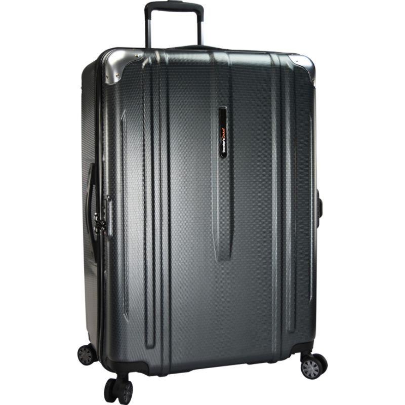 トラベラーズチョイス メンズ スーツケース バッグ New London 29 100% Polycarbonate Trunk Spinner Gray
