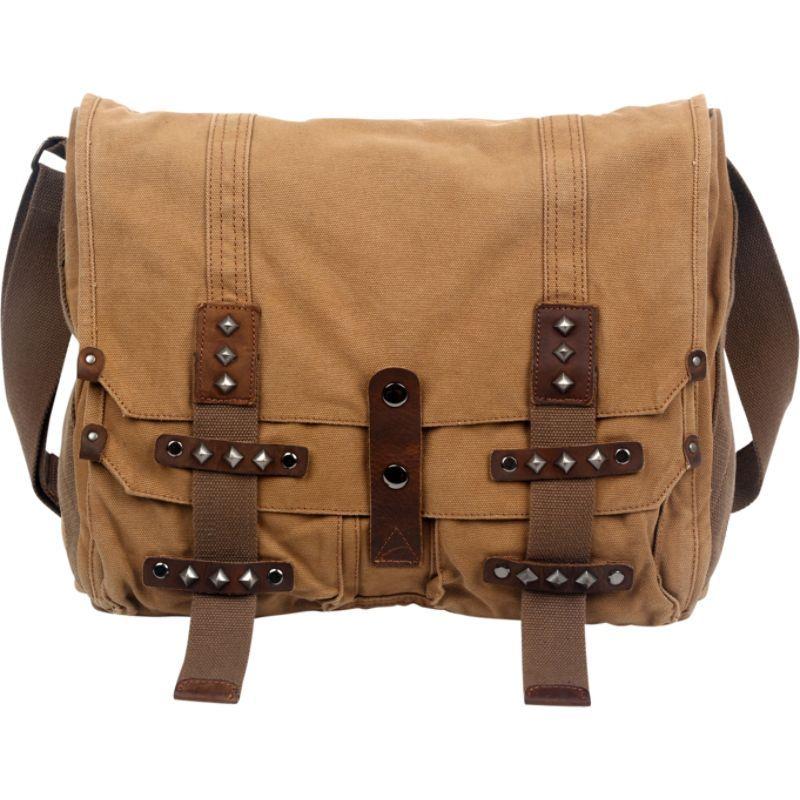 ティエスディー メンズ ショルダーバッグ バッグ Deck Ash Messenger Bag Camel
