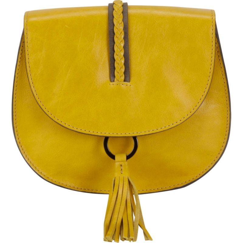 ハダキ メンズ ボディバッグ・ウエストポーチ バッグ Ring Saddle Tango Yellow/Distressed Gray