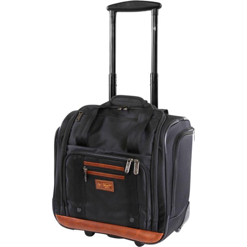 オリジナルペンギン メンズ スーツケース バッグ Underseat 16 Rolling Carry-On Tote Black