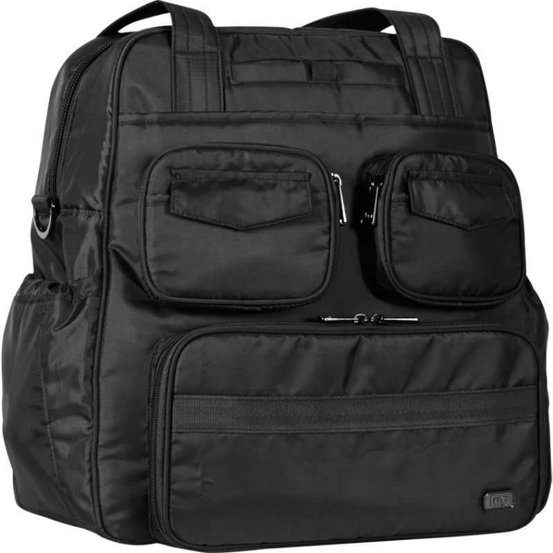 ラグ メンズ スーツケース バッグ Puddle Jumper Infinity Overnight/Gym Bag Midnight Black