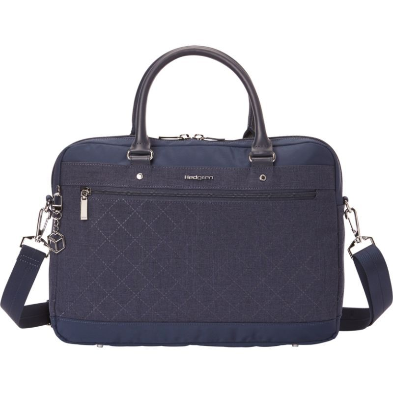 ヘドグレン メンズ スーツケース バッグ Opal 13 Attache - eBags Exclusive Dress Blue
