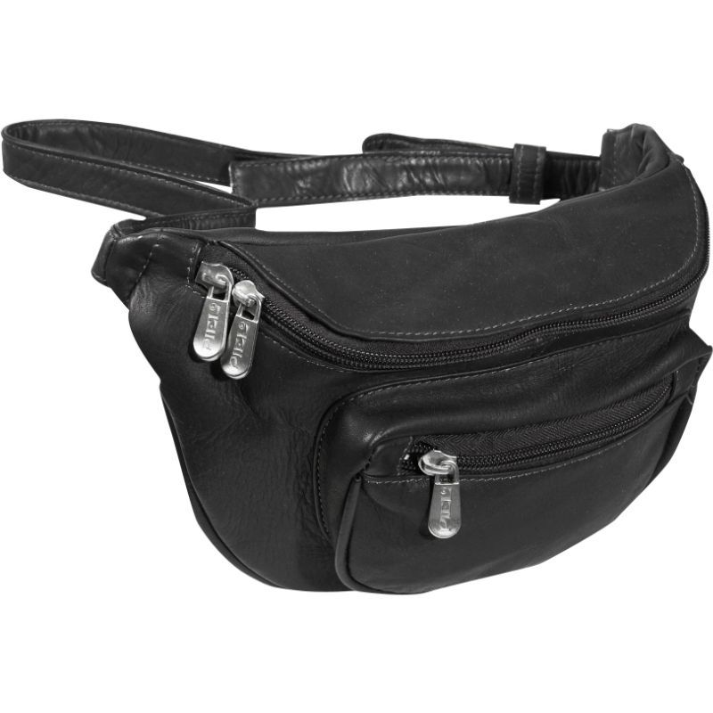 ピエール メンズ ボディバッグ・ウエストポーチ バッグ Traveler's Waist Bag Black