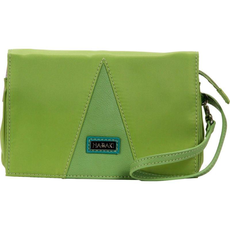 ハダキ メンズ 財布 アクセサリー Nylon Travel Wallet Piquat Green