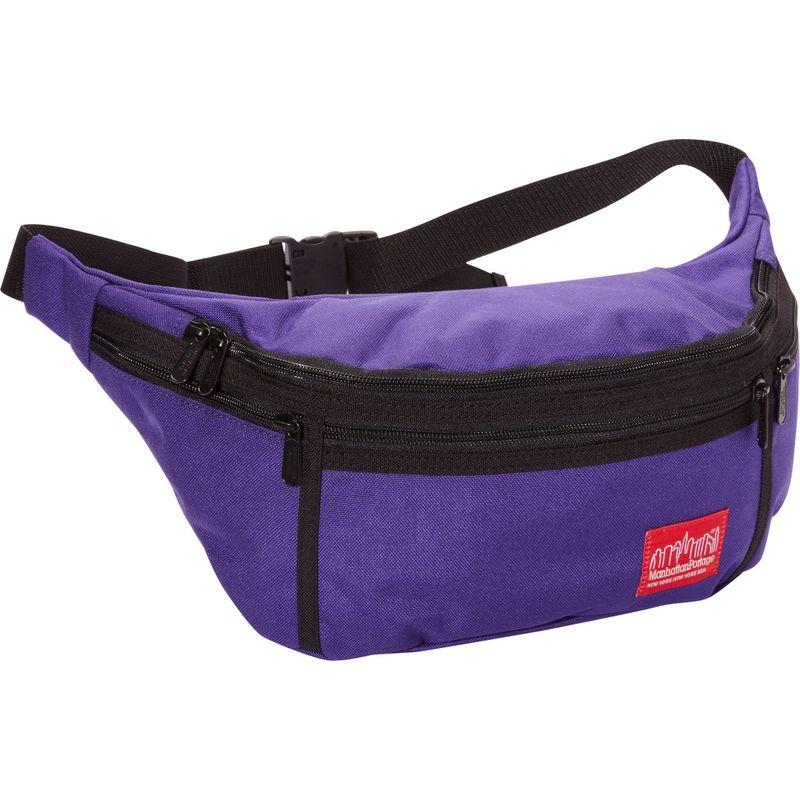 マンハッタンポーテージ メンズ ボディバッグ・ウエストポーチ バッグ Alleycat Waist Bag (LG) Purple