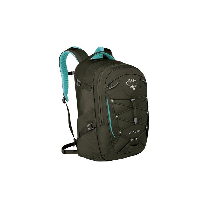 オスプレー メンズ バックパック・リュックサック バッグ Questa Laptop Backpack Misty Grey