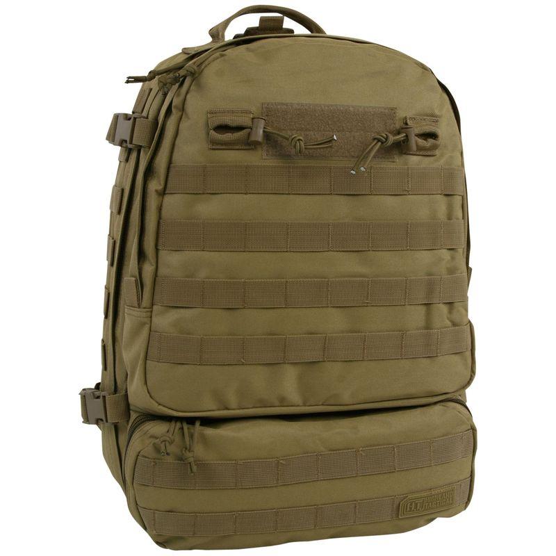 ハイランドタクティカル メンズ バックパック・リュックサック バッグ Armour Heavy Duty Tactical Backpack Tan