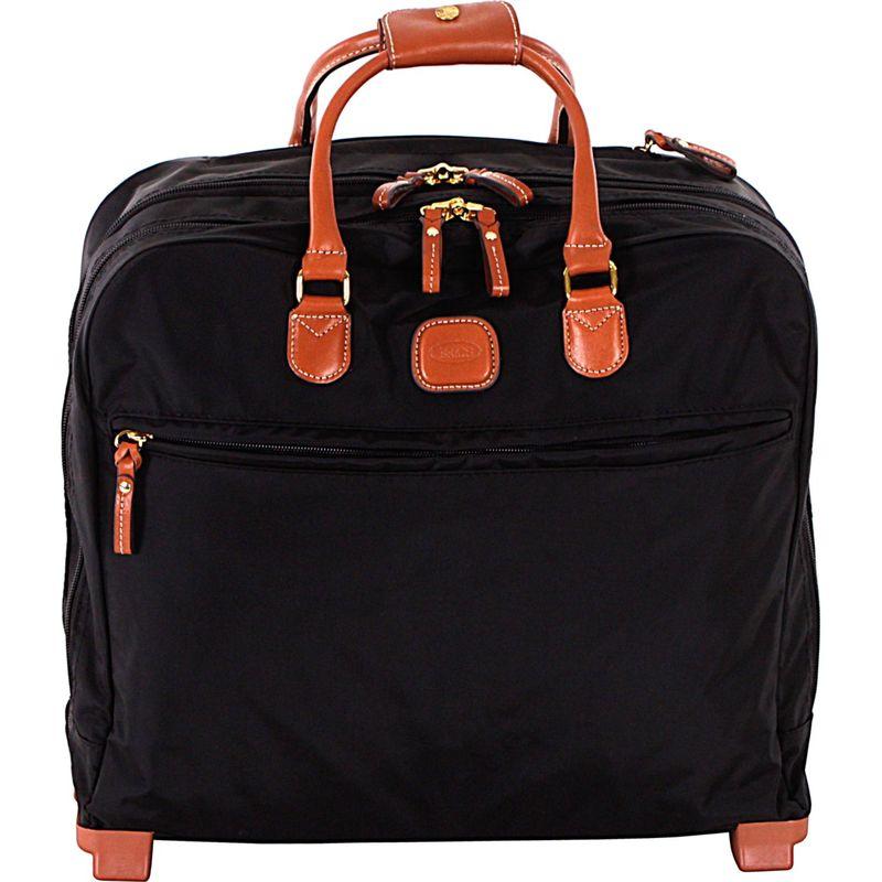 ブリックス メンズ スーツケース バッグ X-Bag Rolling Pilot Case Tote Black