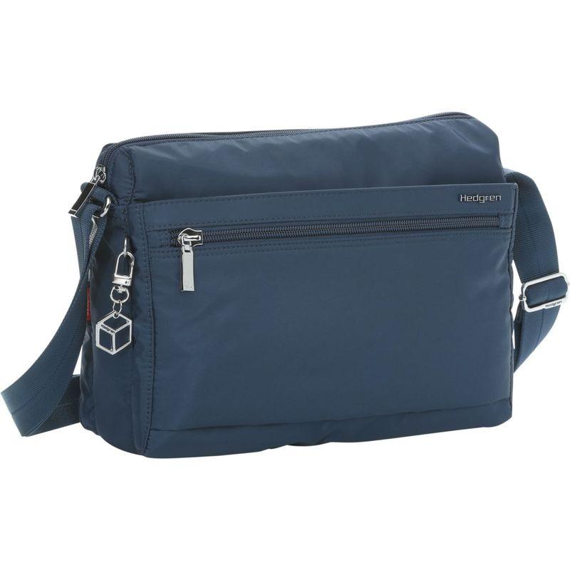 ヘドグレン メンズ ショルダーバッグ バッグ Eye RFID Medium Shoulder Bag Dress Blue