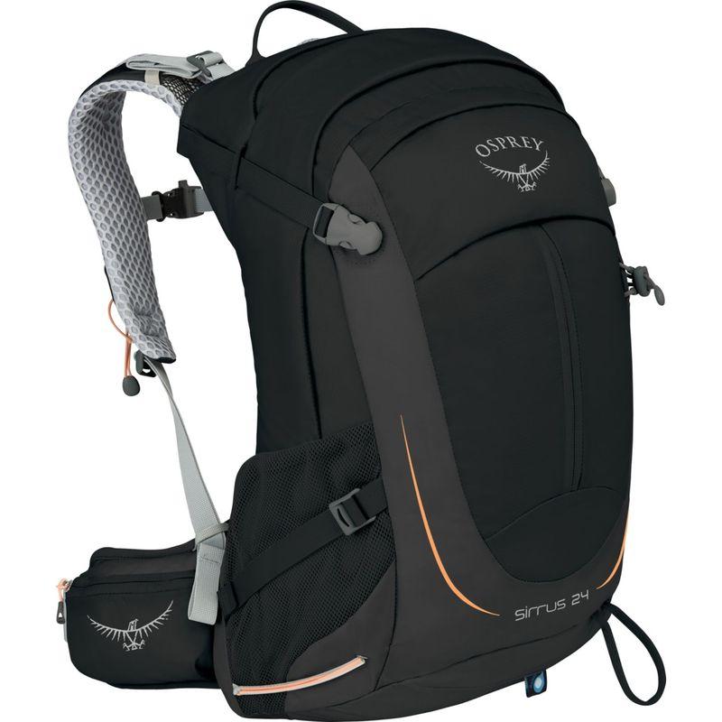 オスプレー レディース バックパック・リュックサック バッグ Womens Sirrus 24 Hiking Pack Black