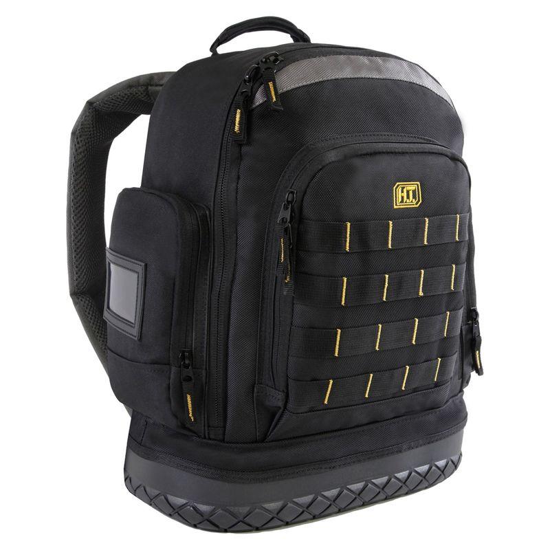ハイランドタクティカル メンズ ボストンバッグ バッグ Task Hard Bottom Tool Backpack with MOLLE Webbing Black