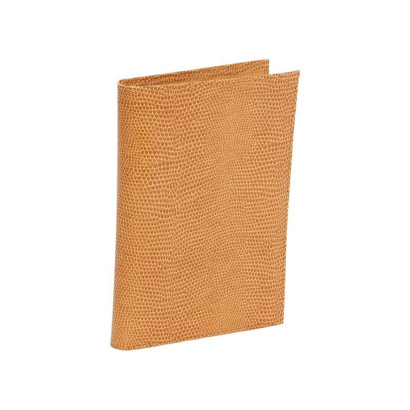 バッドレザー メンズ 財布 アクセサリー Lizard Print Calf Large Passport Case Golden Tan