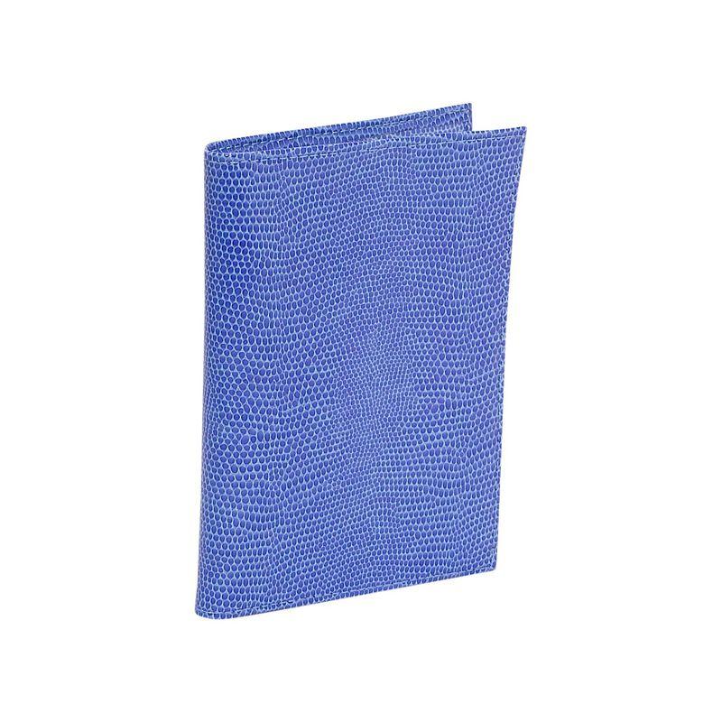 バッドレザー メンズ 財布 アクセサリー Lizard Print Calf Large Passport Case Lilac