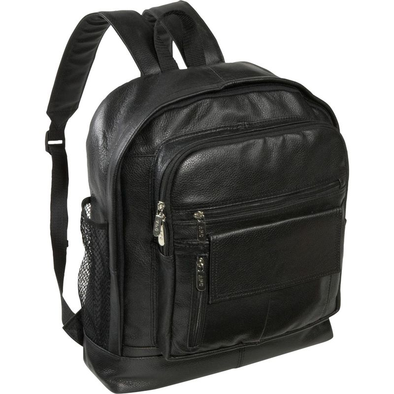 259fa4234b8f アメリ メンズ バックパック・リュックサック バッグ Traditional Leather Backpack Black