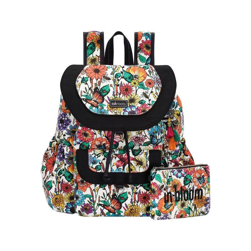 サックルーツ メンズ バックパック・リュックサック バッグ Artist Circle Flap Backpack Optic In Bloom